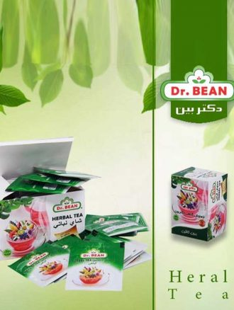 دمنوش تی بگ گیاهی (۱۵ عدد) دکتر بین