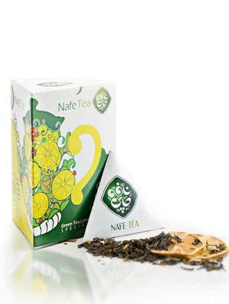 چای سبز لیمو (۱۵ عدد) نافه
