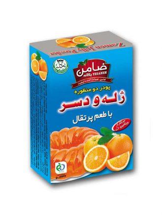 پودر ژله و دسر (طعم پرتقال) ضامن