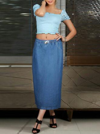 دامن جین (کد۶۷۸) راین