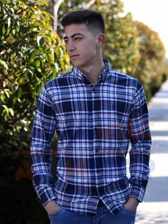 پیراهن مردانه اسپرت (کد۳۰۲) فارکلی
