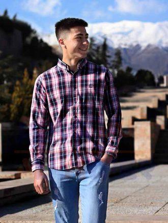 پیراهن مردانه جعبه ای (کد۳۰۶) فارکلی