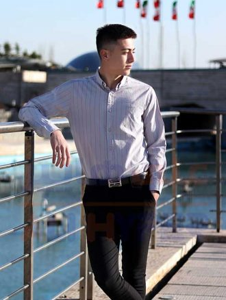 پیراهن مردانه اسپرت (کد۳۰۱) فارکلی