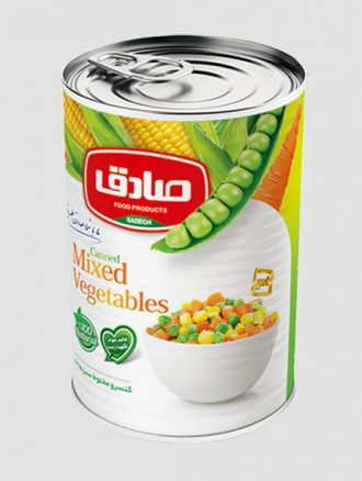 کنسرو مخلوط سبزیجات (صادق)