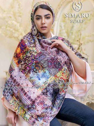 روسری ابریشم (کد۱۰۹) سیمارو