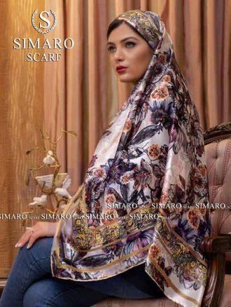 روسری ابریشم (کد۱۲۸۴) سیمارو