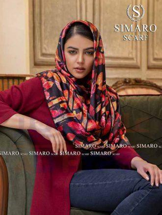 روسری ابریشم (کد۷۲۶) سیمارو