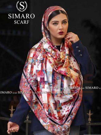 روسری ابریشم (کد۷۲۷) سیمارو