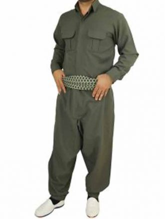 لباس محلی مردانه کردستانی(کد۱۱۰) کوردکالا
