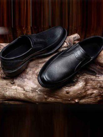 کفش چرم مردانه (کد۲۴۲) فرزانه