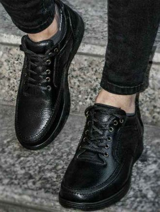 کفش چرم مردانه (کد۲۶۱) فرزانه