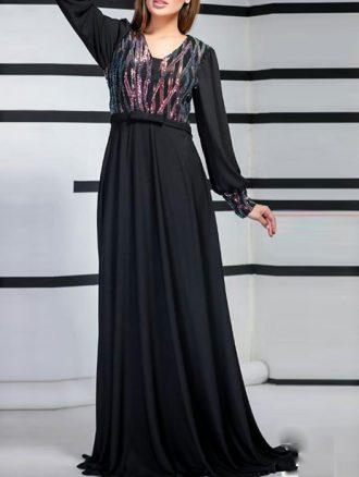 لباس مجلسی پولکی حریر (کد۱۴۸۲) کاتالوگ