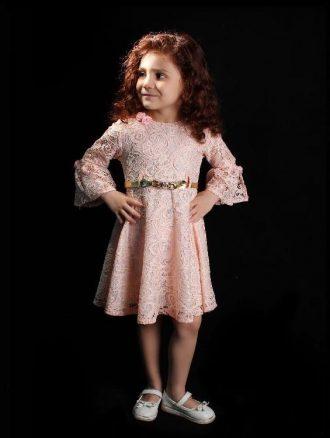 لباس مجلسی دخترانه (کد ۰۷) بهار