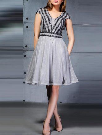 لباس مجلسی پولک حریر (کد۱۴۷۶) کاتالوگ