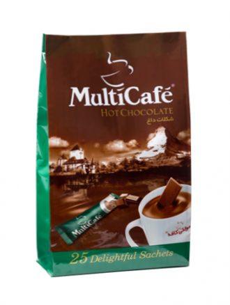 شکلات داغ (۲۵ عددی) مولتی کافه