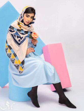 روسری ابریشم ۷۲۷ مدلینا