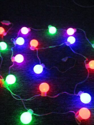 لامپ نورپردازی نمای آپارتمان