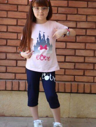 تیشرت شلوار دخترانه ۸۵۰ ناپولی