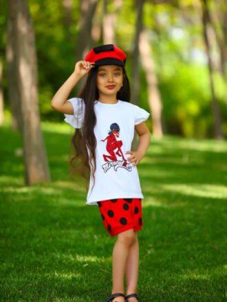 تاپ شلوارک دخترانه ۲۲۰۰ فسقلی