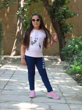 تیشرت و شلوار دخترانه ۸۱۰ ناپولی