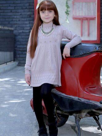 تونیک بافت دخترانه مرواریدی ۳۸۶ بیتامد