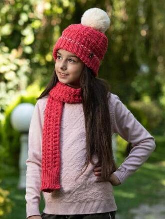 تولیدی شال و کلاه دخترانه